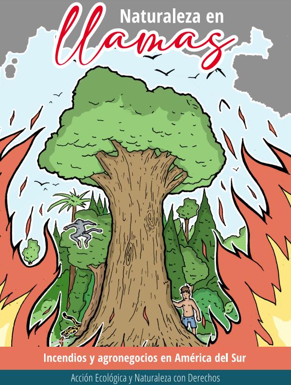 libro naturaleza en llamas